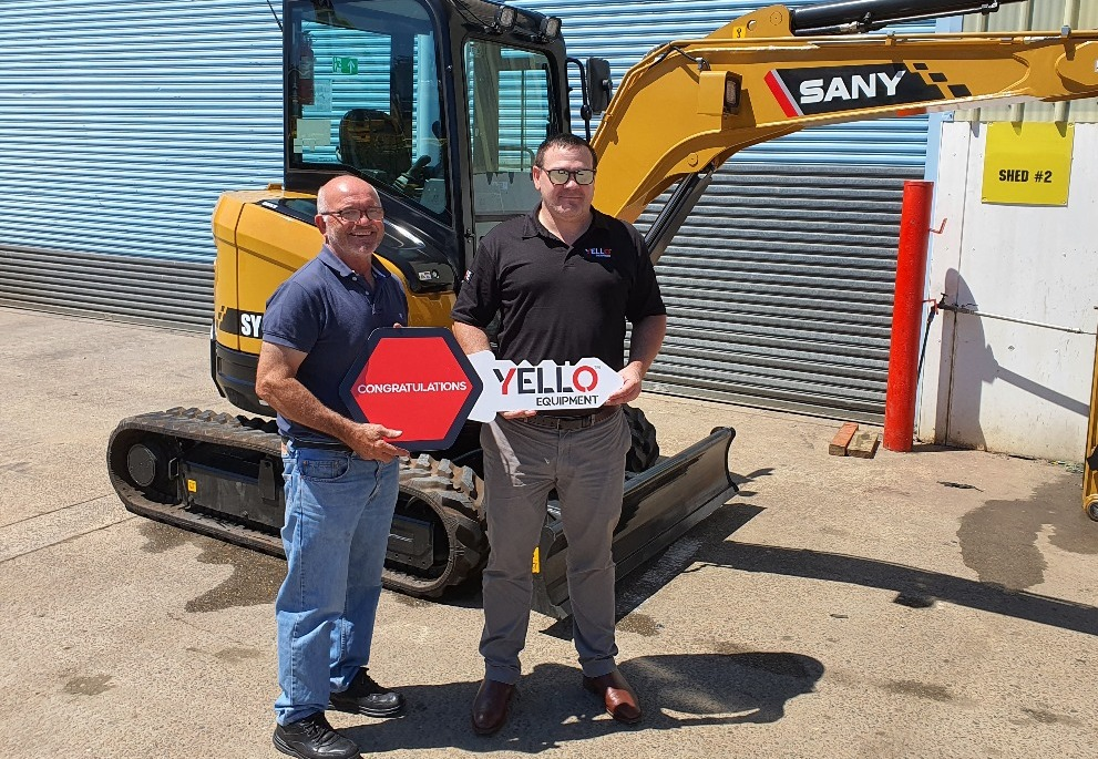 FIRST YELLO EQUIPMENT SALE IN NSW