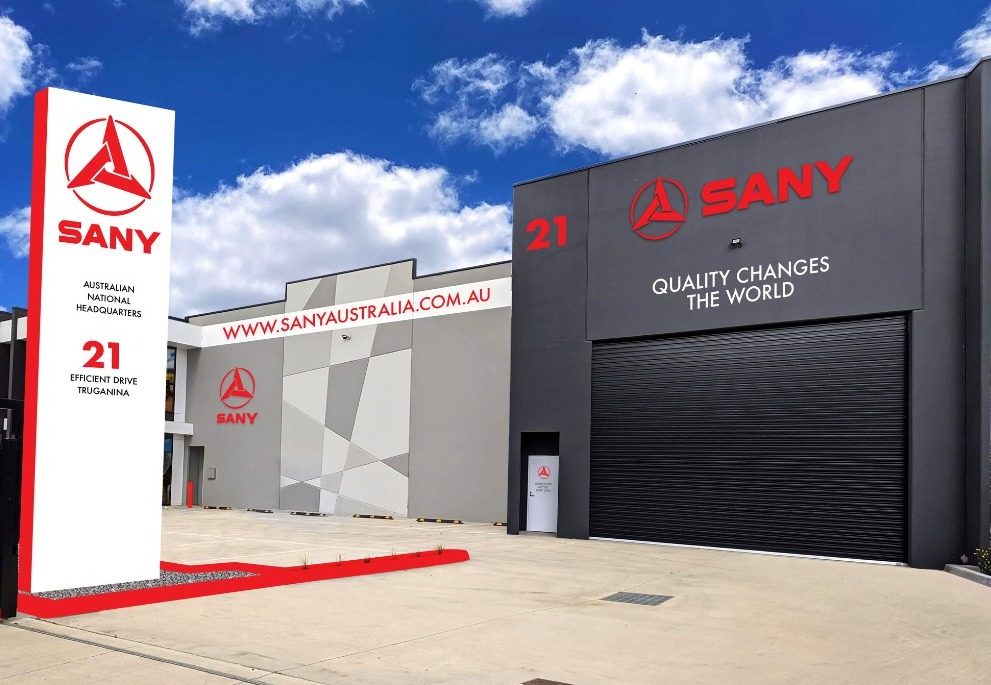 SANY HQ TO LAUNCH IN TRUGANINA MELBOURE