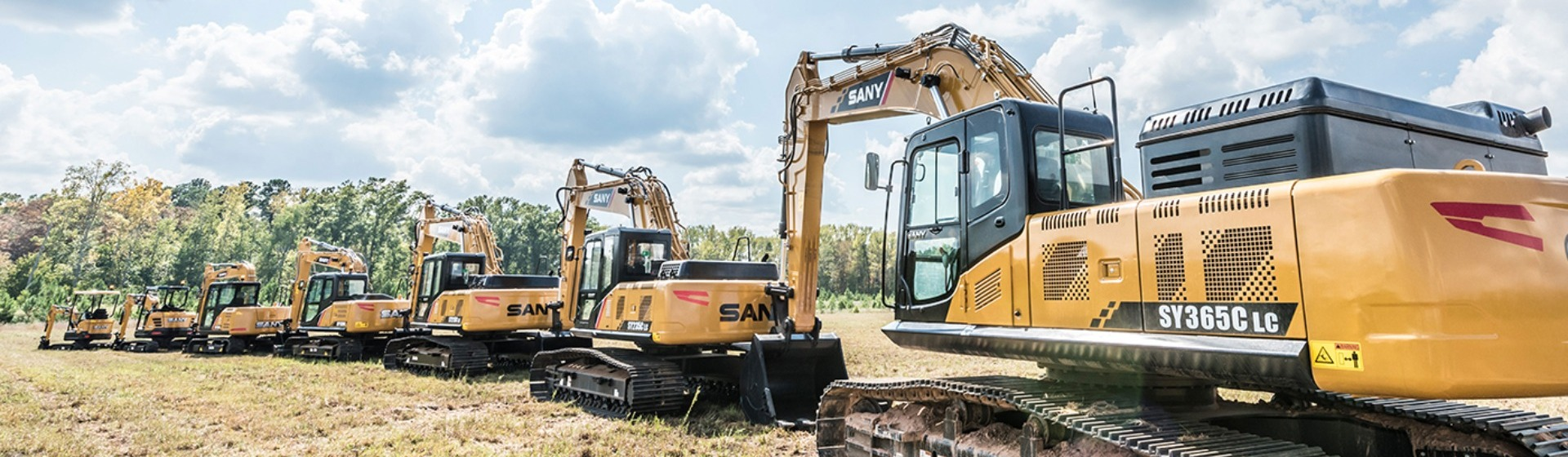 SANY Mini Excavators
