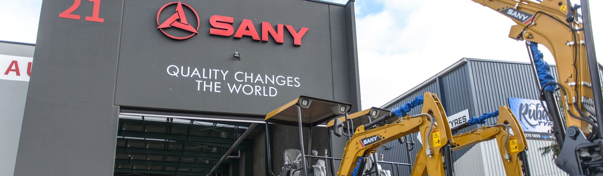 Sany HQ Launch